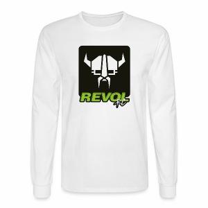 RevolRC Viking White on Black - Men's Long Sleeve T-Shirt