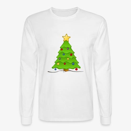 christmas tree - Men's Long Sleeve T-Shirt