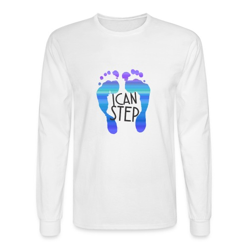 I.C.A.N.S.T.E.P. MOTTO - Men's Long Sleeve T-Shirt