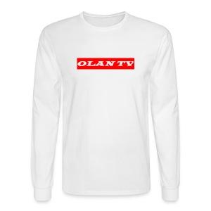 OLAN TV SUPREME TYPE LOGO - Men's Long Sleeve T-Shirt