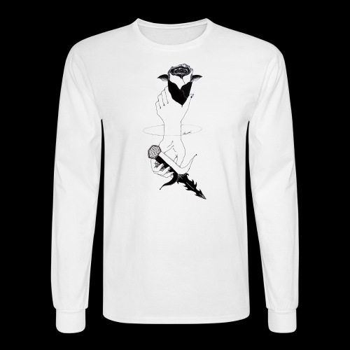 Double Ended - Men's Long Sleeve T-Shirt