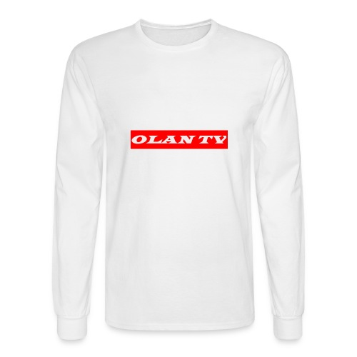 OLAN TV SUPREME TYPE LOGO - Men's Long Sleeve T-Shirt