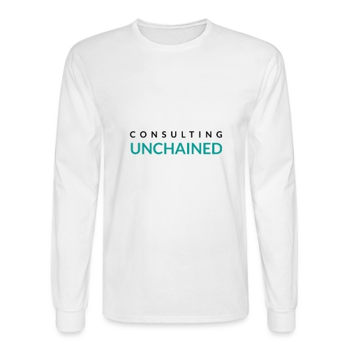 Consulting Unchained - Men's Long Sleeve T-Shirt