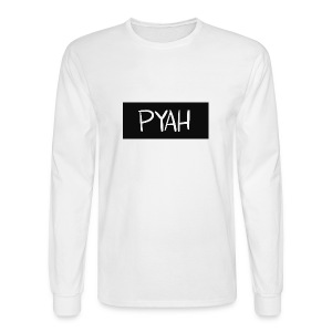PYAH Box Logo - Men's Long Sleeve T-Shirt