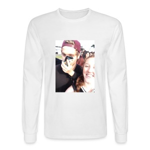 Luke Hemmings with a phone in his face - Men's Long Sleeve T-Shirt
