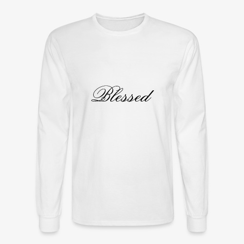 Blessed tshirt - Men's Long Sleeve T-Shirt
