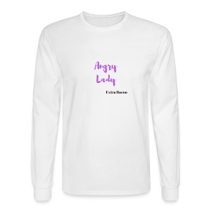 angry lady extra bacon (American Housewife quotes) - Men's Long Sleeve T-Shirt