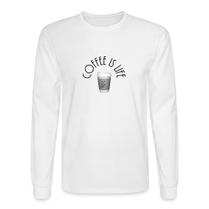 Coffee is life - Men's Long Sleeve T-Shirt
