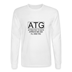 ATG Attracted to gays - Men's Long Sleeve T-Shirt