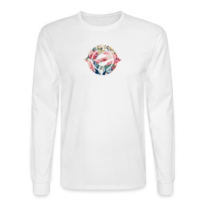 Logo Floral - Men's Long Sleeve T-Shirt