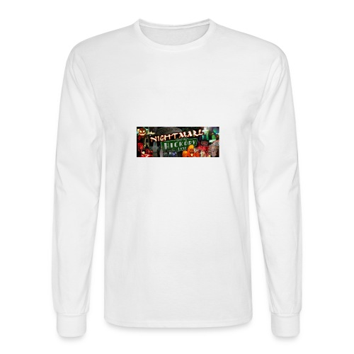 Nightmare on Hickory Lane - Men's Long Sleeve T-Shirt