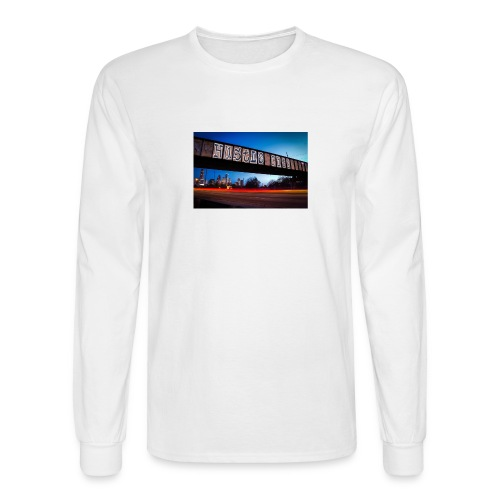 Husttle City Bridge - Men's Long Sleeve T-Shirt