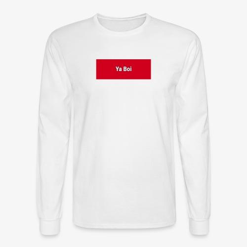 Ya Boi Redline - Men's Long Sleeve T-Shirt