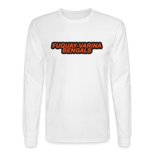 Fuquay-Varina Bengals Retro Design - Men's Long Sleeve T-Shirt