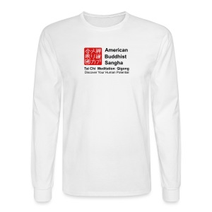 American Buddhist Sangha and Zen Do USA - Men's Long Sleeve T-Shirt