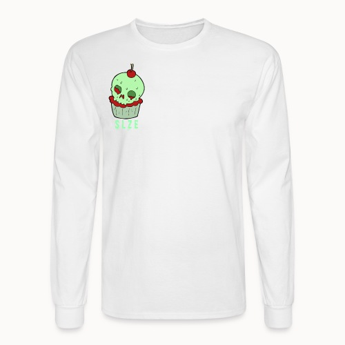 Halloween Cupcake - Men's Long Sleeve T-Shirt