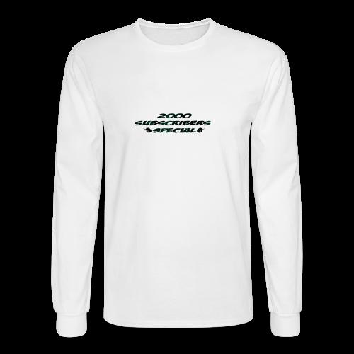 2k Subscribers Merch - Men's Long Sleeve T-Shirt