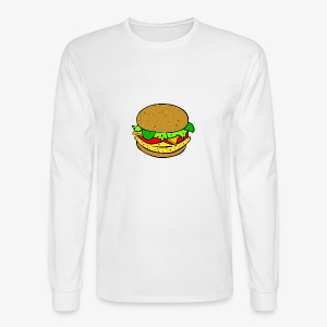Comic Burger - Men's Long Sleeve T-Shirt