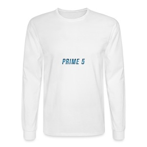 Prime 5 Text Logo - Men's Long Sleeve T-Shirt
