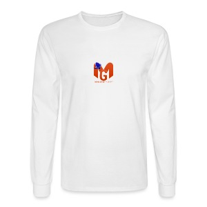 MaddenGamers MG Logo - Men's Long Sleeve T-Shirt