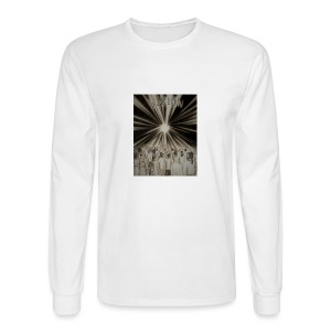 Black_and_White_Vision2 - Men's Long Sleeve T-Shirt