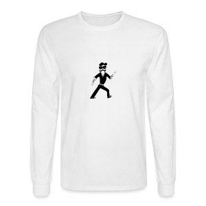The Famous Mr Warrior - Men's Long Sleeve T-Shirt
