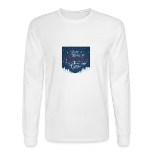 Winter Theme - Men's Long Sleeve T-Shirt
