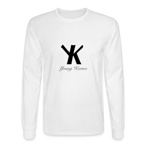 Young Kevino Official Logo (Black) - Men's Long Sleeve T-Shirt