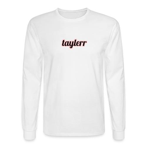 Taylerr Brand Bold Logo // 2nd collection // - Men's Long Sleeve T-Shirt