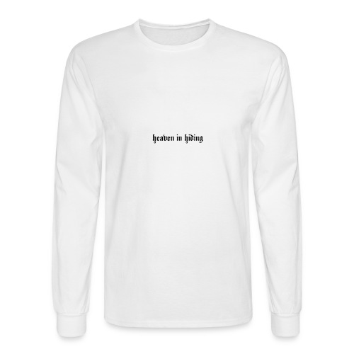 heaven in hiding - Men's Long Sleeve T-Shirt