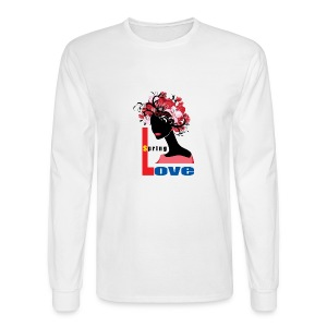 Spring Season Tshirt - Men's Long Sleeve T-Shirt