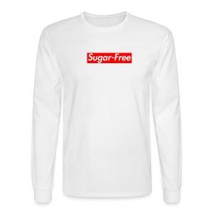 Sugar-Free box logo - Men's Long Sleeve T-Shirt