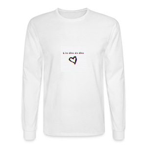 Lil Manny Live Alone Die Alone - Men's Long Sleeve T-Shirt