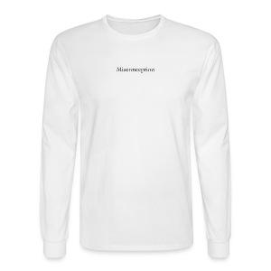 Misconception SS18 - Men's Long Sleeve T-Shirt