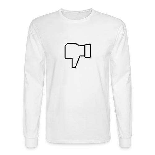 thumbs down - Men's Long Sleeve T-Shirt