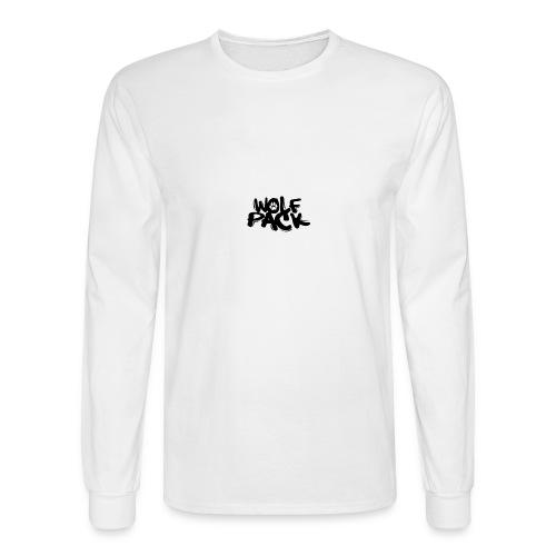 Krazy Hounds Wolfpack Paw Logo - Men's Long Sleeve T-Shirt