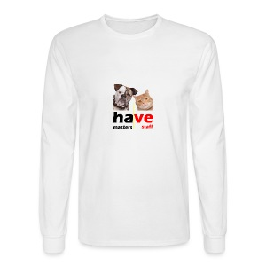 Dog & Cat - Men's Long Sleeve T-Shirt