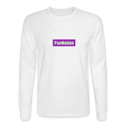 PanNation Box Logo - Men's Long Sleeve T-Shirt