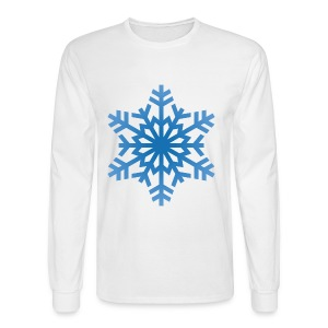 http-images-clipartpanda-com-snowflake-clipart-tra - Men's Long Sleeve T-Shirt