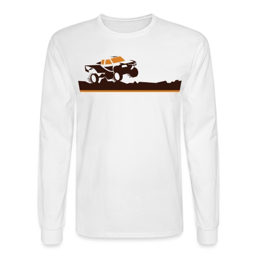 Race Truck Mud Run - Men's Long Sleeve T-Shirt
