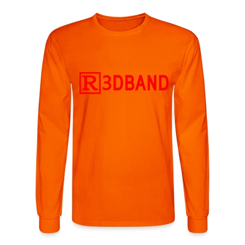 r3dclear red png - Men's Long Sleeve T-Shirt
