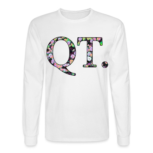 QT AND CUTE - Men's Long Sleeve T-Shirt