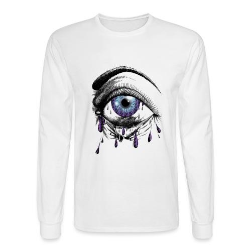 Lightning Tears - Men's Long Sleeve T-Shirt