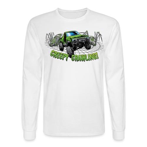 Creepy Truck Crawler blk web - Men's Long Sleeve T-Shirt