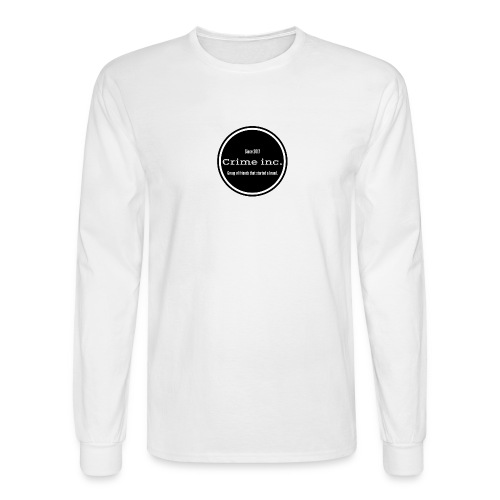 Crime Inc Small Design - Men's Long Sleeve T-Shirt