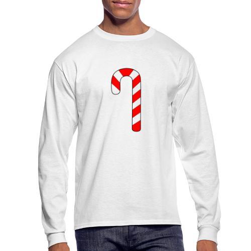 Candy Cane - Men's Long Sleeve T-Shirt