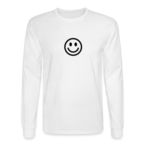 smile dude t-shirt kids 4-6 - Men's Long Sleeve T-Shirt