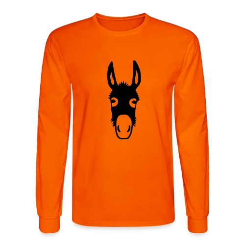 donkey mule horse muli pony - Men's Long Sleeve T-Shirt