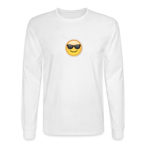 sunglasses emojicon mug & phone case - Men's Long Sleeve T-Shirt
