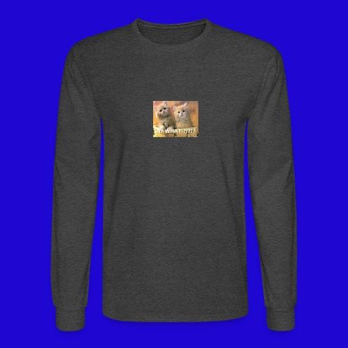 Cute Cats - Men's Long Sleeve T-Shirt